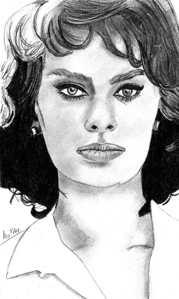 Sophia Loren par patrick